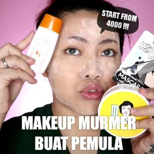 Murah murah bgttttt busett deh hahaha Sangat terjangkau buat pemula dan mostly bisa di beli di pasar atau di Indomaret/Alfamart. Gmn mau coba? . Produk yang dipake: • @purbasarimakeupid Alas Bedak • @marckscosmeticind Powder • @imploracosmetics Pensil alis & Lip cream • @eminacosmetics  Eyeshadow • @viva.cosmetics Blush • @mokomoko_id Mascara . . . . . . 🎥Camera Canon EOS M100 🎛️Edit with @vivavideoapp Pro 🎶Milikmu Selalu - @andienaisyah . . . . . . . #makeupoftheday #tutorialmakeup #Tutorialdandan #makeuptutorial #tutorialmakeup #indobeautygram #makeupoftheday #beautybloggerindonesia #motd #popbelabeauty #flovivi #ClozetteID #cchannelid #cchannelbeautyid #undiscoveredmuas #worldwidemua #wakeupandmakeup #tipsskincare #skincare #cchannelmakeupid @tampilcantik @tips__kecantikan @tutorialmakeup_id @ragam_cantik @meriaswajah @syantiktutorial @ragam_kecantikan @zonacantikwanita