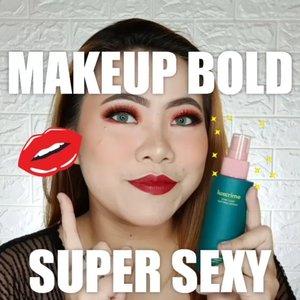 YASSHHHHHH 🌶️ CUS KALI AJA MAU IKUTAN BIKIN MEAP KEK GINI BIAR SUAMI/PACAR BETAH YAKAN 🤪 . Details : @luxcrime_id Prime & Setting Spray @benefitindonesia POREfessional Primer (Matt Rescue & License to Blot @maybelline Superstay Foundation @thesaemid Concealer @flormarindonesia Loose Powder @beautycreations.cosmetics Splash of Hues vol 2 from @ivabeaute.id @cnfstoreofficial Bellaoggi Powder , Contour, eyeshadow @missha.id Cottonfit Blush @riveracosmetics Lipcream Exotic Maroon @sorchacosmetic Highlighter Natuna @reinelash Faux Lashes @gitageo_softlens Fuzzy pop Grey  Earrings @ipiso.cutestuff . #cchannelid #cchannel #beautycontentcreator #beautyinfluencer #ClozetteID #flovivi #boldmakeup #motd #makeupoftheday #indobeautygram #tutorialmakeup