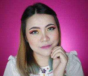 Ada pelangi di matamu. 🌈 ANJAY 😂😂😂 . GOOD MORNING ! HAPPY WEDNESDAY EVERYBODY . SEMANGAAAATTTTT 🎉🎉🎉🎉 . Details : • Primer @pixycosmetics • Foundation @getthelookid @lorealmakeup • Powder @pixycosmetics • Eyebrows @focallure • Eyeliner @purbasarimakeupid • Eyeshadow @beautyglazed @morphebrushes • Bronzer @beautycreations.cosmetics • Blush @byscosmetics_id • Highlighter sleekmakeup • Lipcream @blancheflorcosmetics • Softlens @eyelovin • Eyelashes @bianz_lashes Megan . . . . . . . . . . . . #makeup #makeuptutorial  #wakeupandmakeup #tutorialmakeup #flovivi #makeupvideo #inspirasicantikmu #muajakarta #makeupoftheday #makeupforbarbies #mua #aestheticmakeup #100daysofmakeup #slave2beauty #allmodernmakeup #hudabeauty #belajarmakeup #bretmansvanity #beautybloggerindonesia #tampilcantik  #clozetteID #bvloggerid #indobeautygram #ivgbeauty #bunnyneedsmakeup #makeuptutvid #tutorialmakeuplg #ragamkecantikan #cchannelbeautyid Jangan nyolong hashtag dong🙅🏻♀️ 🌺🌺🌺 @beautybloggerindonesia @bunnyneedsmakeup @cchannel_beauty_id @beautilosophy @tampilcantik @indobeautygram @bvlogger.id @indovidgram @tips__kecantikan @wakeupandmakeup @bloggermafia @setterspace @popbela_com @zonamakeup.id @ragam_kecantikan @inspirasi_cantikmu @inspirasi_cantik @inspirasi_cantik_mu