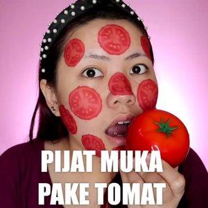 TOMATO SKINCARE 🍅 . Produk yang dipake : 🍅 @tonymoly.indo @tonymoly_street Tomatox Massage Pack 🍅 @kocostarid @kaycollection Tomato Slice Sheet Mask 🍅 @hicharis_official BANIA Tomato Soothing Gel 🍅 @smootoindonesia Tomato Gluta Aura Sleeping Mask . . . . . 🎥Camera Canon EOS M100 🎛️Edit with @vivavideoapp Pro 🎶Close to you - Lucian . . . . . . . #makeupoftheday #tutorialmakeup #Tutorialdandan #makeuptutorial #tutorialmakeup #indobeautygram #makeupoftheday #beautybloggerindonesia #motd #popbelabeauty #flovivi #ClozetteID #cchannelid #cchannelbeautyid @tampilcantik @tips__kecantikan @tutorialmakeup_id @ragam_cantik @meriaswajah @syantiktutorial @ragam_kecantikan @zonacantikwanita