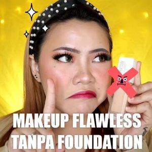Flawless tanpa Foundation? SIAPA TAKUDH 😌.BTW aku balik lg ke background jaman baheul hahaha kuning.Gmn menurut kalian?.Produk yg dipake :@axisy_official skincare@nivea_id Sun Serum@getthelookid Concealer@makeoverid Powder c21@flormarindonesia Contour@thesaemid Blush@16.brand Blush & used as eyeshadow@sis2sis_indo Eyeshadow@riveracosmetics Lipcream@australiscosmetics_id Lipgloss & setting Spray..🎥Camera Canon EOS M100🎛️Edit with @vivavideoapp Pro🎶Love Scenario - ikon....#makeuptutorial #tutorialmakeup #indobeautygram #makeupoftheday #beautybloggerindonesia #clozetteID #cchannelid #cchannelbeautyid #flovivi #indobeautygram #indobeautysquad @tutorialmakeup_id @tampilcantik @tips__kecantikan