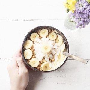 Perfect breakfast, indeed 💖 #goodmorning #nalubowls #smoothiebowl #holidayvibe #ClozetteID