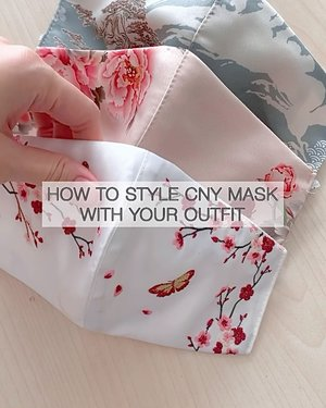 3 WAYS TO PAIR CNY MASK WITH YOUR OUTFIT! Which look is your favorite ? 😄  Btw, @esye_official 's new CNY mask collection is out now! Make sure to check their website! ❤️  #fashionbloggerindonesia #cnycollection #stylingideas #ClozetteID