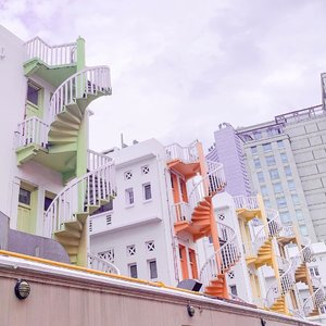 Unexpected view in Bugis....#singaporeview #wheninSG #ClozetteID
