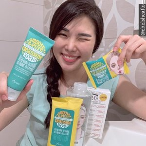 Get Unready With Me, with @ariul_id 💛. Here comes my new favorite set : 💛 Ariul Smooth & Pure Eye & Lip Remover (30 sheets) : cleanse lip & eye makeup completely with a super nice scent! 💛 Ariul Smooth & Pure Cleansing Sheet (15 sheets) : wide wet cleansing sheet to cleanse foundation, concealer perfectly. 💛 Ariul Smooth & Pure Micellar Water 100ml : light, watery texture micellar water that gives fresh and cool sensation to skin. 💛 Ariul Smooth & Pure Cleansing Foam 50ml : double bubble system to cleanse micro dust perfectly, contains 100% natural essential oil to moisturize my skin. Soft texture with fresh scent facial foam that cleanse face perfectly with fun feeling! Skin feels so moist and bouncy! Little goes a long way! 💛 Ariul 7 Days Mask Sheet : my favorite since then mask with a super thin form , gives extra hydration to skin...Let's join the fun like I do! Just simply add my voucher code : ARLXSBN097 to get 30% discount at @sociolla (min.purchase 50K) ! .VALID UNTIL 18 JUNE ONLY! Go grab yours now & let's enjoy the fun!..#skincarereview #ariul #facialwash #sociolla #beautyjournal #ClozetteID