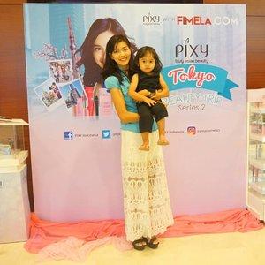 We are attending #pixybeautytrip event @pixycosmetics @fimeladotcom  #pixycoversmooth #pixytokyobeautytrip #clozetteid #potd #makeup #ootd #bestoftheday #indonesiabeautyblogger