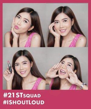 ❤️GIVEAWAY❤️ . The new from @nyxcosmetics_indonesia SHOUT LOUD SATIN LIPSTICK yang super pigmented ada 6 shades yang cocok untuk semua skin tone, the color you see is the color you get! . MAU PUNYA JUGA? CARANYA GAMPANG! 🌟Screenshot foto di slider ke-2 🌟Selfie dengan SHOUT LOUD shade #21STSquad 🌟Insert fotomu lalu post di Instagram, tag @nyxcosmetics_indonesiadengan hashtag #IShoutLoud #21STSquad #IShoutLoudxKania dan #NYXCosmeticsID . 💄3 orang dengan foto ter-asik akan mendapatkan 1 SET SHOUT LOUD LIPSTICK. 💄Pemenang akan dipilih dan diumumkan oleh @nyxcosmetics_indonesia 💄Periode 5 - 15September 💄Lipstick ini bisa kamu dapatkan di Shopee dan lagi ada promo buy one get 1 juga!❤️  #IShoutLoud #NYXCosmeticsID #21STSquad #IShoutLoudxKania #ClozetteID #makeup #shoutloudlipstick #shoutloud