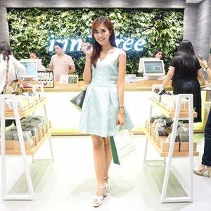 Keseruan kemarin di @innisfreeindonesia  Pre-Grand Launching 1st store in @centralparkmall LG Floor.  #innisfree #innisfreeindonesia #innisfreegreentea #green #beauty #bestoftheday #ootd #outfitoftheday #blogger #beautyblogger #beautybloggerid #beautybloggerindonesia #indonesianfemaleblogger #indonesianbeautyblogger #indonesiangirl #style #skincare #like4like #lifestyle #lifestyleblogger #bloggerslife #bloggerceria #fdbeauty #makeup #l4l #clozette #clozetteid #event #picoftheday