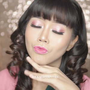 Pink makeup tutorial 💗 __ BROWS a. @anastasiabeverlyhills dip brow pomade soft brown __ EYES a. @nyxcosmetics_indonesia eyeshadow base b. @anastasiabeverlyhills Norvina palette c. @gabycosmee super black eyeliner d. @nyxcosmetics_indonesia glode on eyeliner pencil in silver e. @kryolanindo contour pencil in white f. Lashes unbranded  __  LIPS a. @limecrimemakeup unicorn lipstick geradium & @makeupforeverid artist rouge mat M402 on the center __ Highlighter @thebalmid mary lou manizer . @indobeautygram @indovidgram @bunnyneedsmakeup @tampilcantik @brian_champagne @ragam_kecantikan @wakeupandmakeup @muasfeaturing @featuremuas @flawlesssdolls @makeupgalss @undiscovered_muas @underratedmuas @abhjunkiessss @hypnaughty.makeup @bebeautymood @beautychannel.id @cchannel_beauty_id #cchannelbeautyid  #eclatpressedglitter #indobeautygram #ivgbeauty #complexionmakeup #wakeupandmakeup #fdbeauty #muasfeaturing #featuresmuas #undiscovered_muas #flawlessdolls #hypnaughtymakeup #underratedmua #makeupclips #makeupvideo #makeuptutorial #makeupartist #allmodernmakeup #tampilcantik #ragamkecantikan #BeautyBloggerIndonesia #Clozetteid #beautychannelid #indonesianfemaleblogger