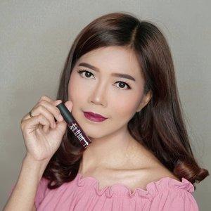 Not my kind of colour.... . But this one from @nyxcosmetics_indonesia Soft Matte Lip Cream shade Copenhagen I really love it❤️ . #nyxcosmetics #nyxid #nyxsoftmattelipcream #nyxprofessionalmakeup #nyxsmlccopenhagen #ClozetteID #beauty #makeup