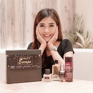 BIG SALE Let's celebrate the Black Friday moment with Beauty Escape!.Kamu bisa dapetin special full size gifts saving up to 43% dan additional discount 10% off untuk berbagai produk dari 4 brand kesayangan kita semua : YSL, Kiehls, Lancome dan Shu Uemura!.You can join the fun online or offline only at SOGO, SEIBU, Galeries Lafayette and MAPEMALL! Get additional exclusive promo for Kiehls and Lancome if you shop to these brands respective website!.Don't miss it! Because this promo will only last on Dec 4! Shop Now : Sogo Click and Shop / 081299719993@sogo_ind @lancomeofficial @kiehlsid @shuuemura @yslbeauty #BeautyEscape2020 #lancomeid#kiehlsid #shuuemuraid #yslbeautyid #ClozetteID