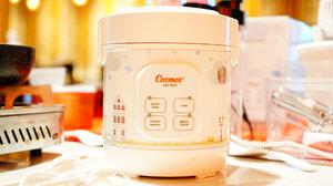Swipe for details ❤️❤️❤️.Cosmos Rice Cooker CRJ-1031 dengan kapasitas 0.3 L dengan desain yang compact, mudah untuk dibawa traveling, wisata, Umrah atau Haji, cocok untuk mahasiswa..Sudah dilengkapi dengan panci anti lengket dan fitur digital Multi Fungsi 4 in 1 (Quick Cook, Cook, Warm, Instan Noodle)..🌵 Berikut ini spesifikasi dari Cosmos Rice Cooker CRJ-1031:- Daya Listrik : 180 Watt- Kapasitas : 0.3 Liter- 4 in 1 (Memasak Nasi, Memasak Cepat, Menghangatkan, Memasak Mie)- Panci Teflon Anti Lengket- Mudah dibawa untuk Travelling- Garansi COSMOS 1 Tahun.Moms bisa membeli Cosmos Rice Cooker CRJ-1031 di www.belanjacosmos.com dengan kode voucher COSMCICIDESRICRJ Moms bisa langsung mendapatkan diskon 20%.Atau bisa juga beli produk Cosmos lainnya dengan kode COSMCICIDESRI, Moms langsung mendapatkan diskon 15% ..@cosmosonline#banggacosmos #belanjacosmos #cosmosgathering #duetmasakcosmos #cosmosminiricecooker #miniricecooker #travelingtips.#cicidesricom #cidesupdate #cidessharing #cidesreview #clozetteid #bloggerlifestyle #bloggerid #momblogger #healthycooking