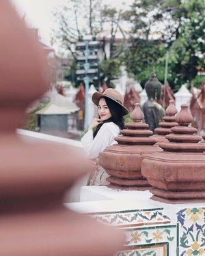 Playing around Wat Arun Temple #tiffstylediaries
