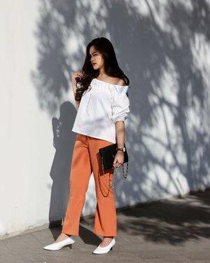 Orange is the new black 🍊#wearmine #tiffstylediaries