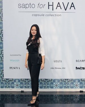 Earlier today at #SaptoforHAVA Capsule Collection Fashion Show #HavaIndonesia #ClozetteID #ClozetteIDXHava