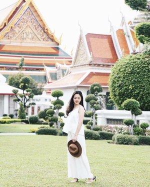Afternoon walk around Wat Pho ☀️