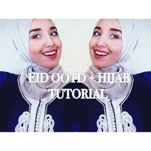 Eid Outfit and Hijab Tutorial - YouTube