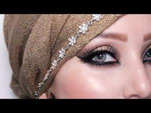 Bronze and Gold Eid Makeup Look 3 |by fatihasWORLD ماكياج العربي - YouTube