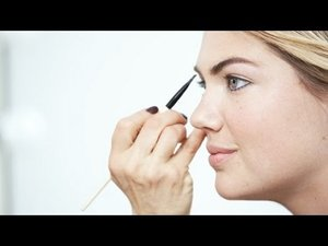 How-To: Instant Pretty with Kate Upton and Bobbi Brown - YouTube