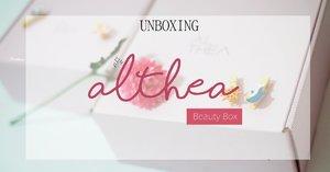 UNBOXING ALTHEA Beuaty Box, LANEIGE, ARGAN OIL, SKINFOOD, VERITE, MAMONDE