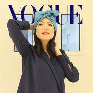 A bit late because I forgot to post it but since I got challenged by @roselinipotato after saw @fransiska_wenda post, so here is my #voguechallenge  #fierce #fashion
