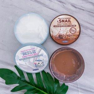 Habis cobain Soothing Gel POT 300ml milk and snail from @charis_celeb 😍. My favorite itu yang milk!! Sumpah wangi susu banget, udah gitu ga lengket, langsung menyerap di kulit juga, terus dia bener2 soothing kulitku juga. Selain itu soothing gel ini tuh aman dan bisa di pake di badan & muka. Kedua nya punya kegunaan yang sama cuma beda nya 1 milk 1 snail 😎. Aku punya special price buat kalian! Cuma 100K aja 1 pot nya!! 👌🏻💯✨ bisa click link di bawah ini atau di bio aku 😘 👇🏻http://hicharis.net/Reginabundiarti/K0h#milatte #fashiony #soothinggel #CHARIS #hicharis @hicharis_official @charis_celeb #clozetteid #snail #milk