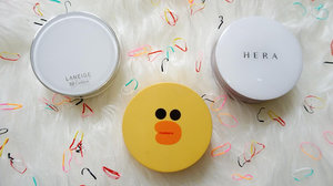 Fashion and Beauty: BB Cushion Review : Laneige, Missha and Hera