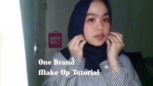 One Brand Make Up Tutorial Miniso!✨ . . Janji buat bikin tutorial make up ala akunya udah lunas ya riviewnya nyusul di on my blog.. Kamsahamnidaa!🙆💙 . . . #Miniso #Minisoindo #Clozetteid #Clozzeteid #clozetteid #ClozetteidXminisoindonesia #tutorialmakeup #onebrandmakeup