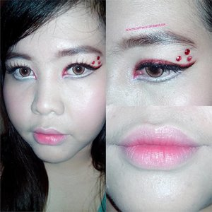 I know #indonesiaindependenceday is already passed a few days ago. I already created a look for @thebalmid #makeupchallenge that suits the #independeceday theme. But, since i was too busy and my phone is old and error, i missed my upload moment. I did this eye look using a red lipstick, red eyeshadow, red glitter, white cream shadow, white matte shadow, and white glitter. This look os obviously inspired from #merahputih flag but i fused some #asianmakeupstyle to this look. Anyway, happy 71st Indonesia's Independence Day everyone! And let's not waste the fight of our heroes to get this freedom. We might be an independent country now, but some of us still living unindependently. Join me too guys! @bastamanfajar @zsahime @jidatami @rina6484 @swingingpadma  #clozetteid #motd #fotd #makeupdoll #bblogger #makeuplover #makeupmafia #beautifuleyes #indonesianbeautyblogger #beautyblogger #beautyenthusiast #ulzzangmakeup #koreanmakeup #japanesemakeup #bandungmua  #メイク #アイメイク #アイシャドウ #メイクアップ #メイクtutorial #オルチャンメイク #韓国メイク #韓国メイクアップ #美人 #美少女