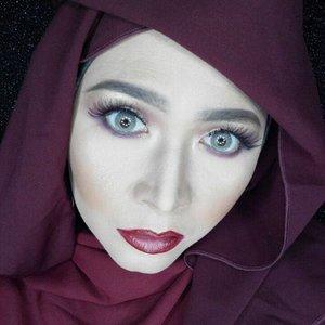 Lenses by @cleolens, frozen gray  #makeupbyedelyne #hijabbyedelyne #hijabstyleindonesia #hijabandmakeup #makeupartistindonesia #makeupartistgarut #muabandung #muagarut #amazingmakeupartist #makeupmom #hijabers #hudabeauty #instamakeup #makeupartistsworldwide #anastasiabeverlyhills #vegasnay #makeup #hijabfashionista #hijabfashion #fashionbeautyblogger #mua #clozetteid #starclozetter #fallmakeup #makeupartist