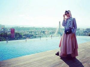 #ootd #hijabstyle #hijabbyedelyne #hijabfashion #starclozetter #clozetteid