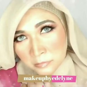 Pagii....Kali ini tutorial makeupnya tanpa foundation, cm pakai concealer dari @pixycosmetics , contour kit dari @latulipecosmetiques_ and bedaknya dari @viva.cosmetics .Tetap di rumah aja ya temans 💪💪💪💚💚. #brushedbyedelyne #makeup #makeuptutorial #clozetteid #hijabandmakeup #hijabi #stayathome #dirumahaja #stayhealthy #instagram #instamood