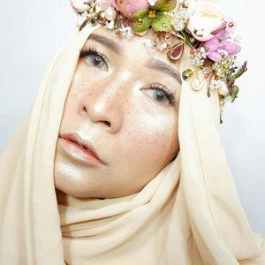 #brushedbyedelyne #makeup #clozetteid #hijab #hijabandmakeup #hijabstyle #freckless #frecklessmakeup #wakeupandmakeup #mua #makeupart #makeupartist