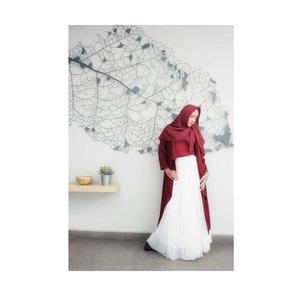 Fashion is instant language.Outer and tutu skirt by @casandrafashion#ootdbyedelyne #starclozetter #Clozetteid #clozetteidpotw #hijablookbook #hijab #hijaber #hijabandfashion #hijupfashion #ootd #outfitoftheday #bloggerstyle #blogger #mua #hijabstylist #instagram