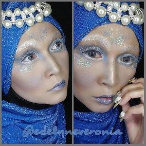 #makeupbyedelyne #hijabbyedelyne #indonesianbeautyblogger #hijabphotography #hijabfashion #makeupandhijab #makeupartist #makeupartistindonesia #makeupaddict #makeupmommy #indobeautygram #instamakeup #amazingmakeupart #clozetteid #COTW #clozettehalloween #makeup