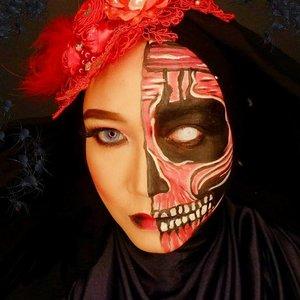 Makeup by @reredini84 #makeup #starclozetter #clozetteid #makeupinspo #makeupideas #makeupart #makeupartist #mua #makeupcharacter #makeupoftheday #facepainting