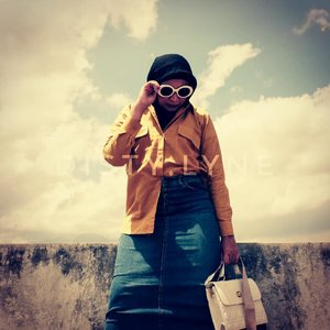 Don't forget , beautiful sunsets need cloudy skies .#ootd #outfit#outfitoftheday#ootdbyedelyne #clozetteid #instagood