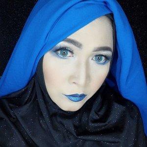 Morning blue !#makeupbyedelyne #hijabbyedelyne #hijabstyleindonesia #hijabandmakeup #makeupartistindonesia #makeupartistgarut #muabandung #muagarut #amazingmakeupartist #makeupmom #hijabers #hudabeauty #instamakeup #makeupartistsworldwide #anastasiabeverlyhills #vegasnay #makeup #hijabfashionista #hijabfashion #fashionbeautyblogger #mua #clozetteid #starclozetter
