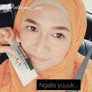 Ngalis pakai UNBELIEVABROW dari Loreal Paris 113 Warm Brown yuuk...  #brushedbyedelyne #beunbelievable #makeup #instagramanet #tutorialalis #clozetteid