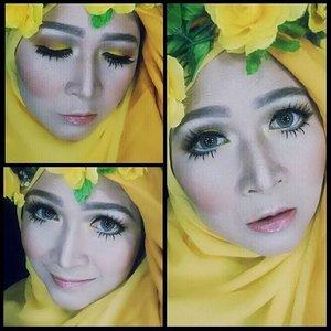 Hello yellow #makeupbyedelyne #hijabbyedelyne #makeupartist #makeuartistworldwide #starclozetter #clozetteid #riasmuslimah #hijabstyle #makeupandhijab #instamakeup #wakeupandmakeup #makeupmom #mua #muabandung #hijabiqueen #hijabfashion #AtomCarbonBloggerCollabs