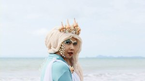 Amphitrite the Sea Goddess  Video keduaku untuk @nyxcosmetics_indonesia NYX Big Thing Makeup Challenge dan aku memilih Mbak @inivindy 🐚🐚🐚 Videonya bisa ditonton di YouTube Channelku ▶  #NYXCosmeticsID #BigThing #TeamIniVindy  #ClozetteID #clozettehalloween