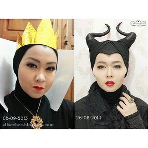 Time flies, sometimes I shock with how many things I've learnt through creating a post for my blog.. :'DBy the way, I haven't create any Disney Villain makeup since Maleficent. I miss it though.. all that creative processes.. #DisneyVillains #makeup #EvilQueen #Maleficent #ClozetteID #clozette