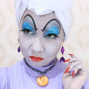 You poor unfortunate soul!!! 🐙🐙🐙 #ursula #disney #villain #littlemermaid #halloween #clozetteid #clozettehalloween #ibvsfx #indobeautygram