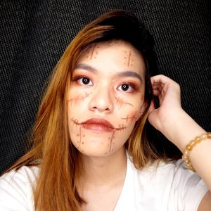 Don't ever hurt girls! Because when she's hurt, she will haunt your dream, turn it into nightmare.@bandungbeautyblogger #tribepost #bbbhalloween2019 #clozetteID
