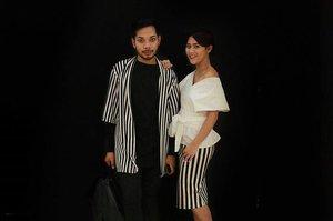 Plaza Indonesia Fashion Week Spring Summer 2016. 🔲🔳 #PIFW #ss16 #clozetteid #fashion #stripes #blackandwhite