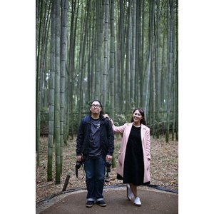 👫🌾 📸 @nassa.d  #HuboyWaifuTravelJournal #HuboyWaifuInJapan #HuboyWaifuJalanJalanJapan #ClozetteID #Lifestyle #Travel #BambooGrove #Arashiyama #Japan