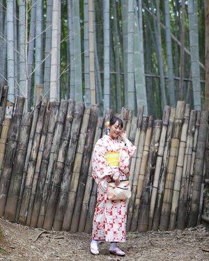 ⚘🎍🌹🎍⚘🎍🌹 #Kimono #ClozetteID #Traveling #Arashiyama #Kyoto #Japan