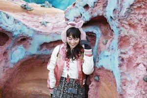 Apa guna, sis, malu-malu kucing~ 🎶  #ClozetteID #Traveling #Japan #Tokyo #disneysea