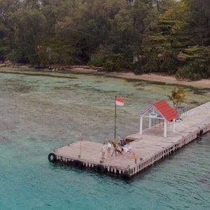 #tb stranded at @jakartaanimalaidnetwork island 🏝