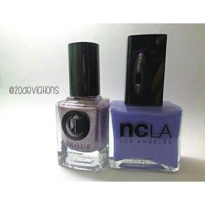 New review on nailpolishes posted! Check on bio. #blogger #beautyblogger #nailsreview #nailpolish #nails #ncla #cirqus #clozetteid #20deviationsnails #20deviations #20deviationsreview